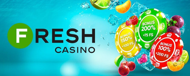 Fresh casino: 50 Free spins no deposit
