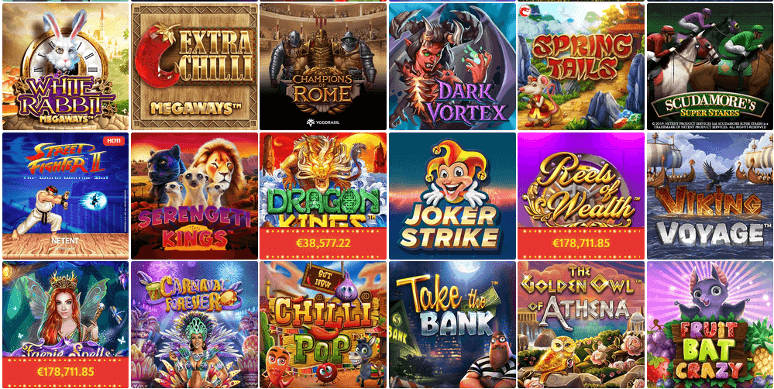 Slot Wolf Casino: 20 Putaran Gratis tanpa deposit
