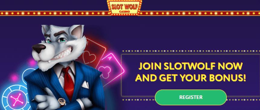 Bonus Kasino Serigala Slot